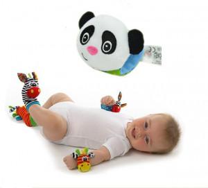 Bratara interactiva pentru bebelusi - Panda