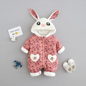 Combinezon roz pudra - Bunny