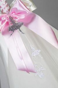 Lumanare botez balerina LB007