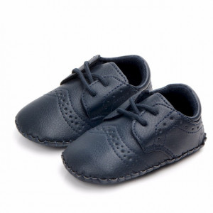 Pantofiori bleumarin eleganti baietei