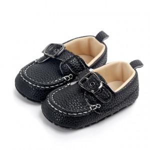 Pantofiori eleganti negri cu catarama
