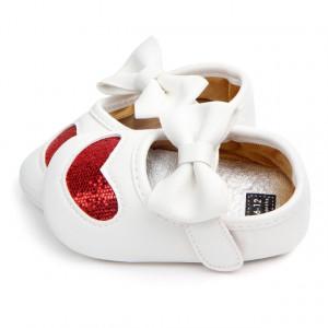 Pantofiori fetite - Inimioara sclipitoare rosie