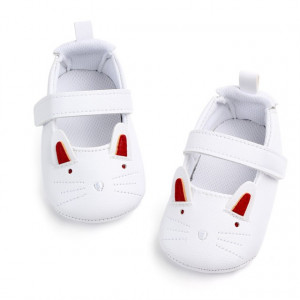 Pantofiori fetite - Pisicuta alba