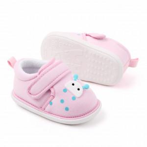 Pantofiori roz pentru fetite - Buburuza