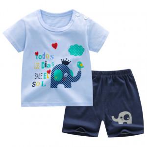 Pijama pentru baietei - Elefantel