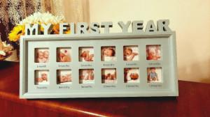 Rama foto bleu - Primul an