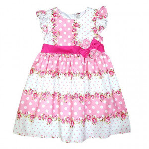 Rochie fetite - Pink roses