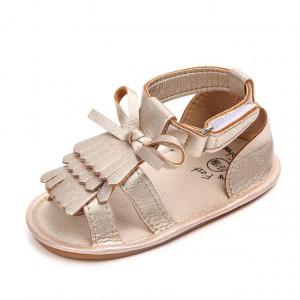Sandale fetite - Franjuri aurii