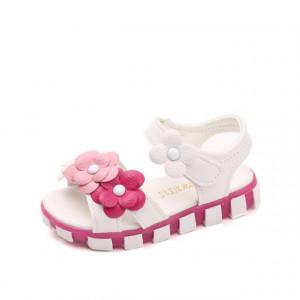 Sandale pentru fetite cu floricele