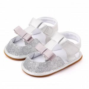 Sandalute argintii pentru fetite
