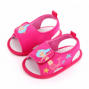 Sandalute roz ciclamen pentru fetite - Sirena
