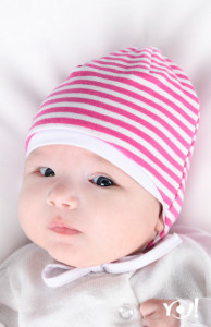 Caciulita dublata pentru bebelusi