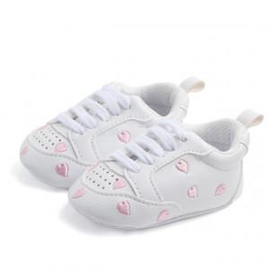 Adidasi fetite - Inimioare roz