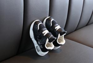 Adidasi negri pentru bebelusi
