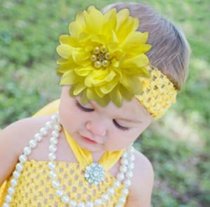 Bentita pentru fetite - Floarea cu perlute