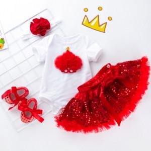 Body cu fustita rosie - Tortulet