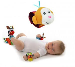 Bratara interactiva pentru bebelusi - Maimutica