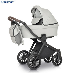 Carucior 3 in 1 model Rider Soft Light Grey