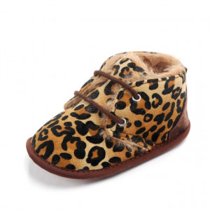 Ghetute imblanite pentru fetite - Leopard