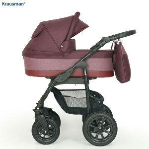Krausman - Carucior 3 in 1 Jet Purple