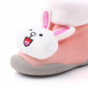 Mocasini cu talpa antiderapanta - Bunny