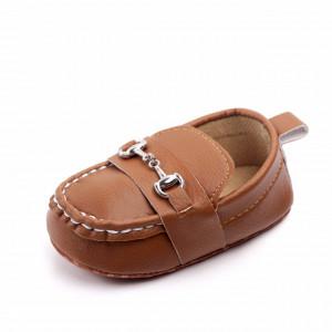 Pantofiori eleganti maro cu catarame