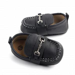 Pantofiori eleganti negri cu catarame
