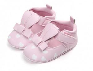 Pantofiori fetite roz - Urechi de iepuras