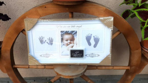 Rama foto alba cu amprenta - Little Bebe