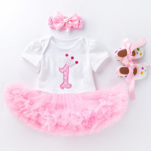 Rochita body cu fustita tutu - First