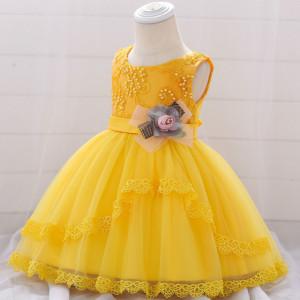 Rochita ocazie - Yellow pearls