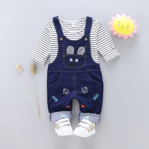 Salopeta bebelusi bleumarine - Soricel