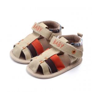 Sandale baietei crem - Baby