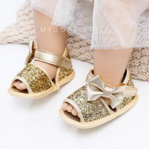 Sandalute aurii cu bentita asortata