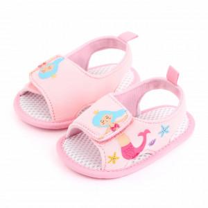 Sandalute roz pentru fetite - Sirena