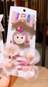 Set de 4 accesorii pentru par - Princess