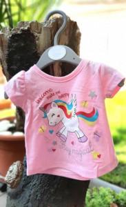 Tricou fetite - Unicorns make me happy