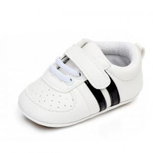 Adidasi bebelusi cu dungi negre