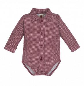 Body camasuta pentru bebelusi Red - Colectia Elegant