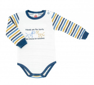 Body pentru bebelusi din bumbac - Colectia Friends