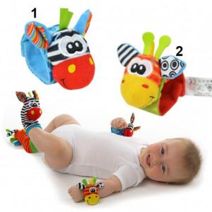 Bratara interactiva pentru bebelusi - Zebra