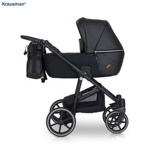 Carucior 3 in 1 model Verano Lux Black