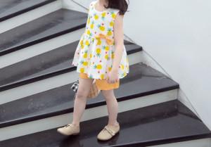 Costumas pentru fetite - Ananas
