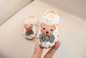 Pantofiori albi decupati - Teddy