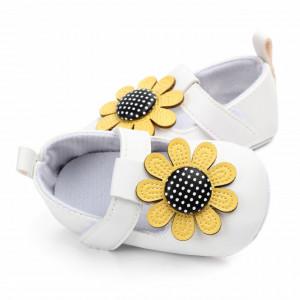 Pantofiori albi - Floarea soarelui