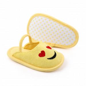 Pantofiori decupati pentru fetite - Love Emoticon
