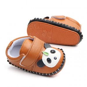 Pantofiori maro - Ursuletul Panda