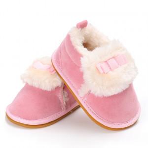 Pantofiori roz imblaniti