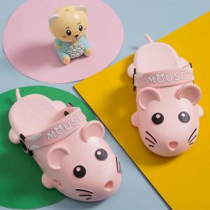 Papuci din cauciuc pentru fetite - Soricelul roz