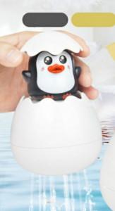 Pinguinul din ou - jucarie pentru baita
